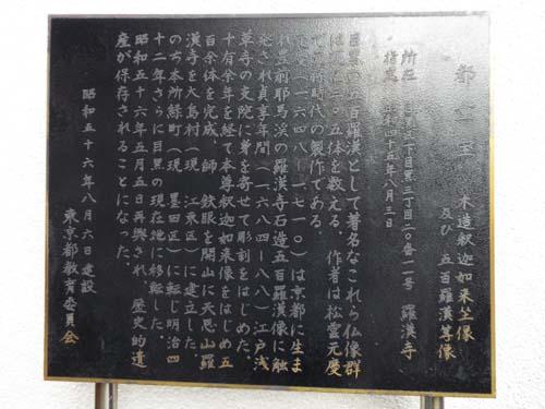 目黒五百羅漢寺と目黒不動まで見たこと_f0211178_1652436.jpg