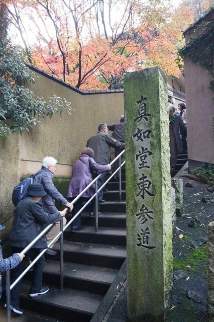 藤田八束の京都・真正極楽寺真如堂を訪ねて①_d0181492_1714638.jpg