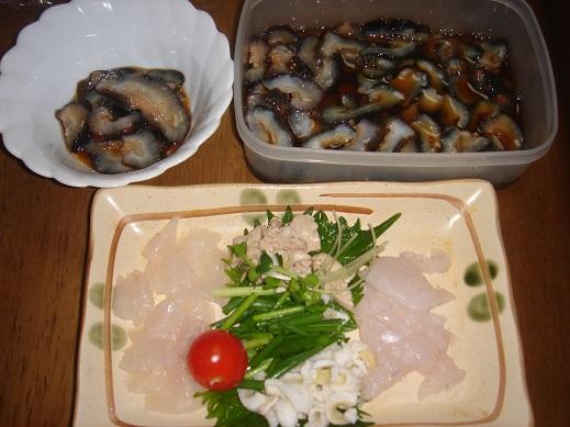 ★カワハギ釣り納め~料理~新年だぁ~★_e0147297_11242643.jpg