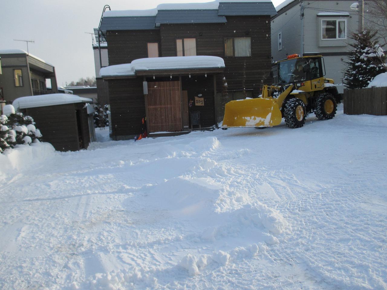1月2日(金)・・・雪かき_f0202703_19533733.jpg