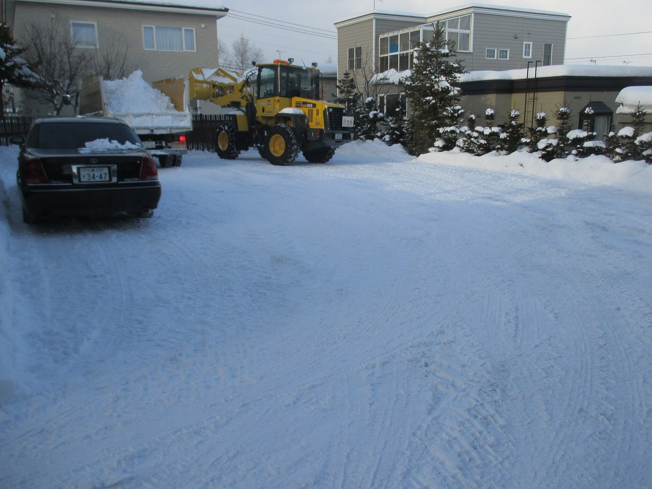 1月2日(金)・・・雪かき_f0202703_19561390.jpg