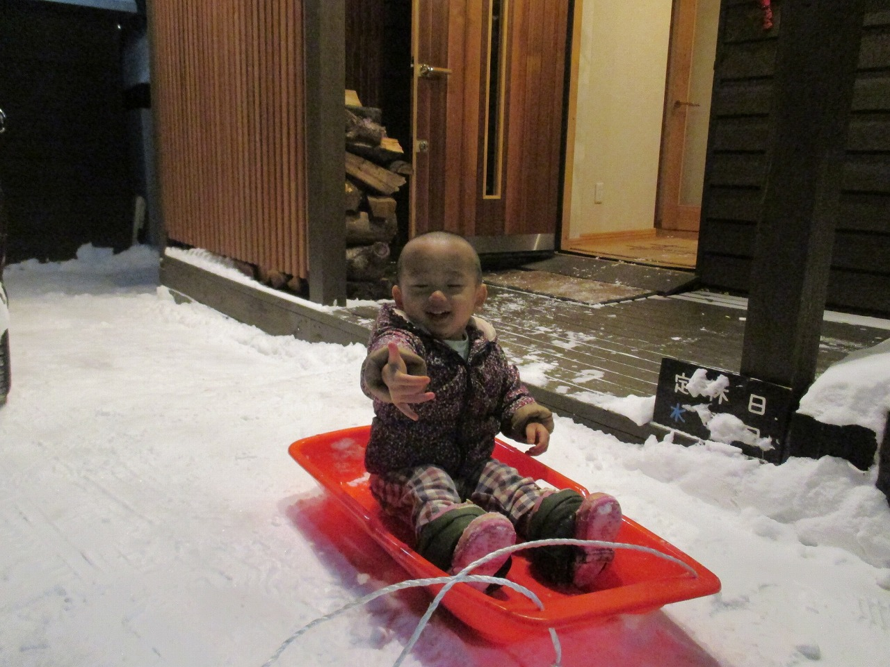1月2日(金)・・・雪かき_f0202703_19593145.jpg