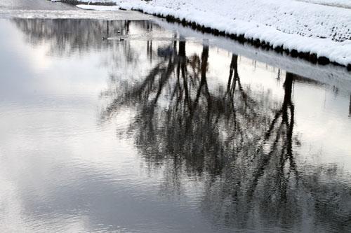 鴨川雪景色_e0048413_1745693.jpg