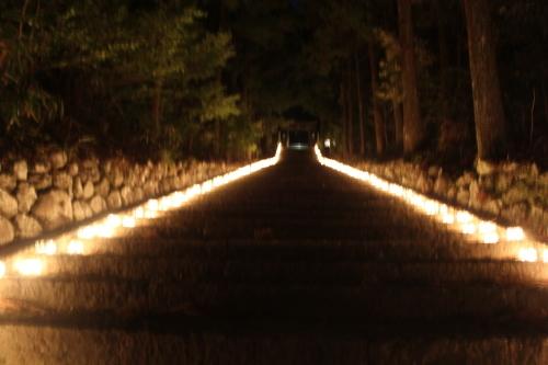 キャンドルIN熊野神社_e0101917_09494362.jpg