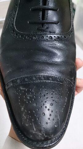 「靴に傷がついてしまった!」を、クリームで!_b0226322_19005697.jpg