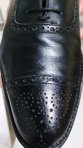 「靴に傷がついてしまった!」を、クリームで!_b0226322_19084225.jpg