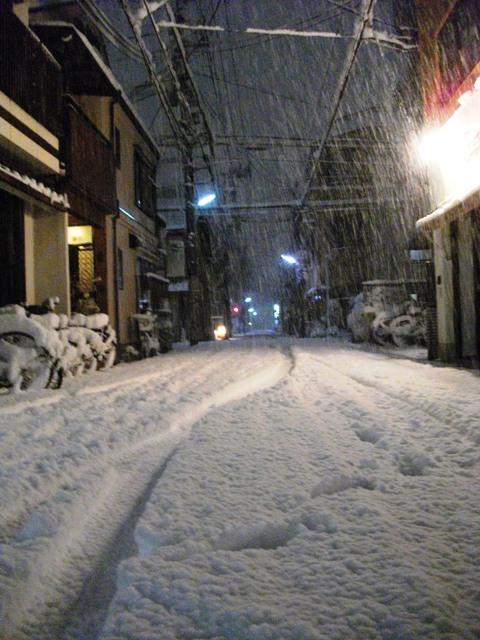 雪中行軍 初音湯_e0230141_8353312.jpg