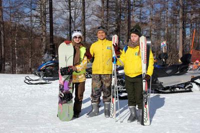 エレーナ、スキーをやってみた…_f0145483_21155304.jpg