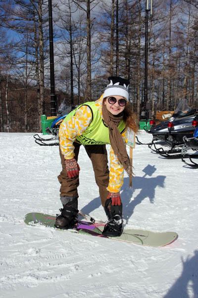 エレーナ、スキーをやってみた…_f0145483_21223918.jpg