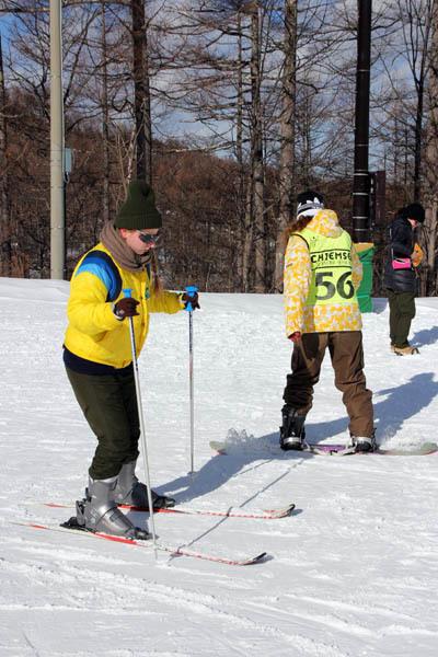 エレーナ、スキーをやってみた…_f0145483_21245517.jpg
