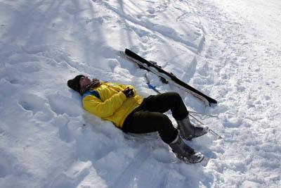 エレーナ、スキーをやってみた…_f0145483_21434595.jpg
