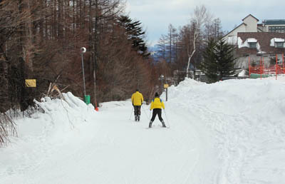 エレーナ、スキーをやってみた…_f0145483_22072707.jpg