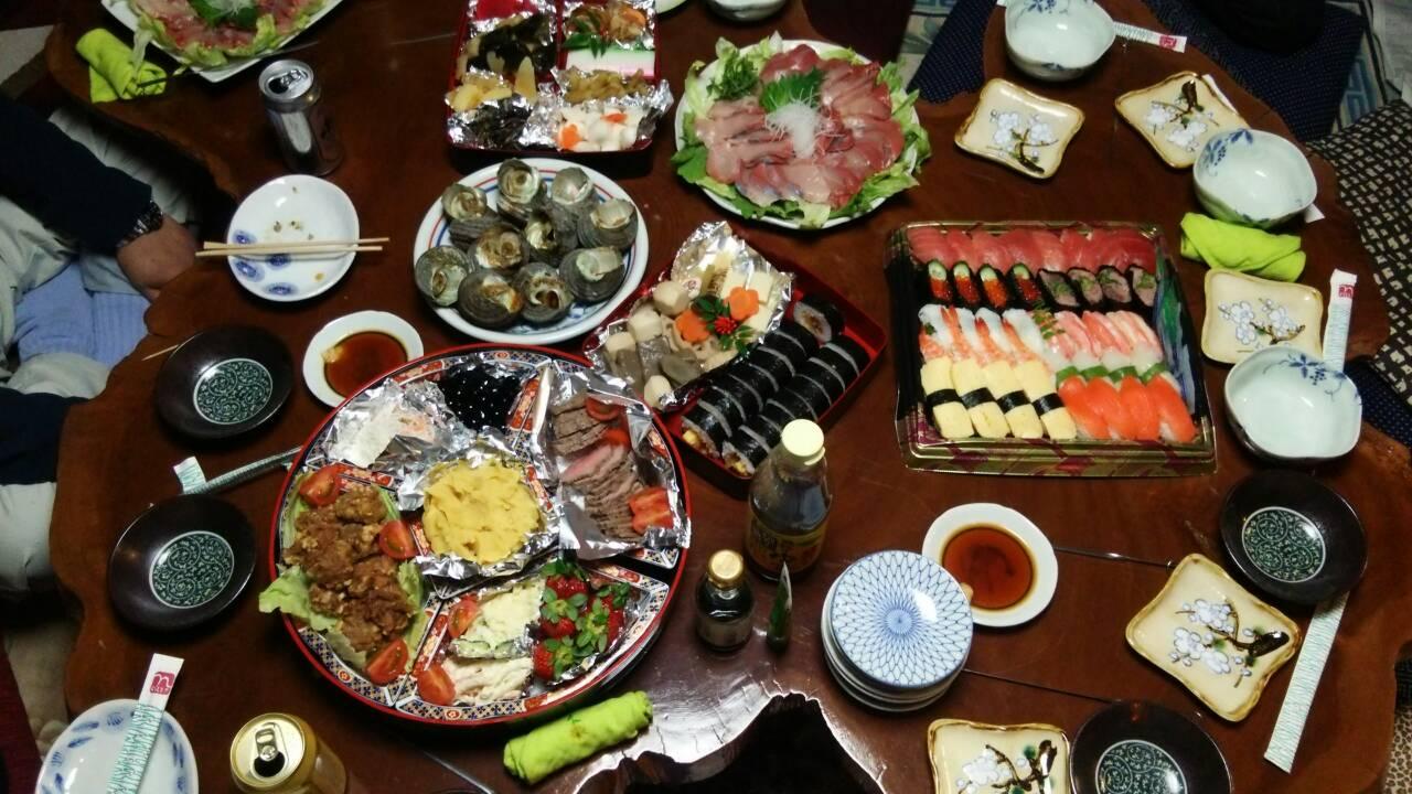 2014年最後の晩餐。_a0167735_19194317.jpg