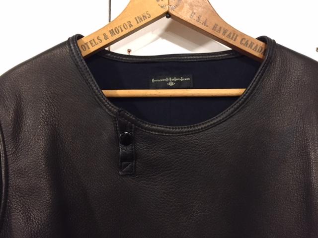 Leather Long Sleeve Tee_d0121303_20573479.jpg