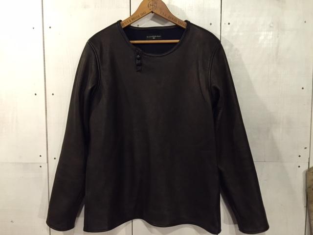 Leather Long Sleeve Tee_d0121303_20574457.jpg