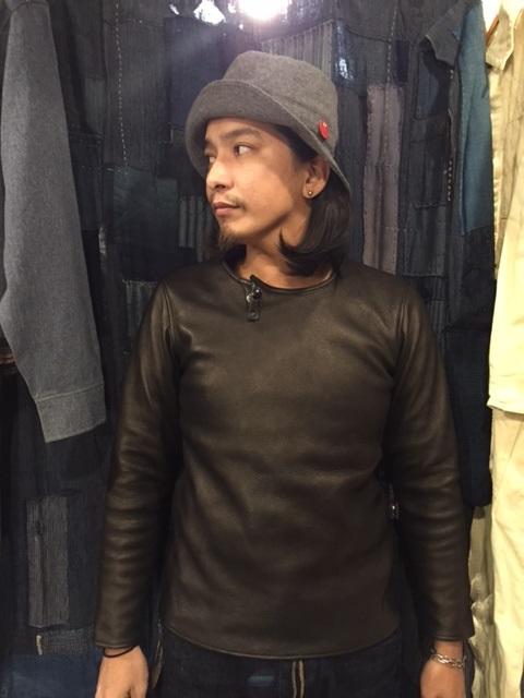 Leather Long Sleeve Tee_d0121303_20595147.jpg