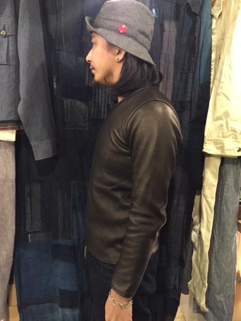 Leather Long Sleeve Tee_d0121303_20595532.jpg