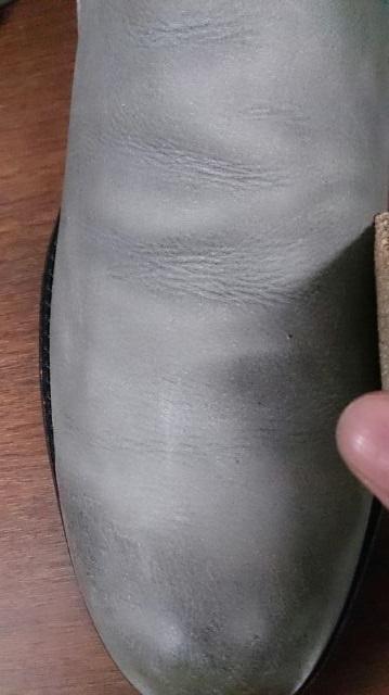 爪先だけが光っている靴は…_b0226322_20142243.jpg