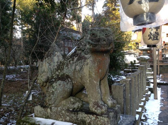 湯布院の宇奈岐日女神社_f0183846_22565698.jpg