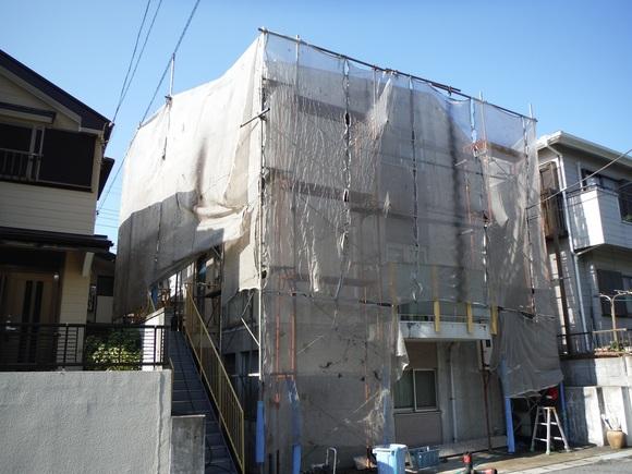 屋根・外壁塗り替え ~ 補修箇所_d0165368_9463993.jpg