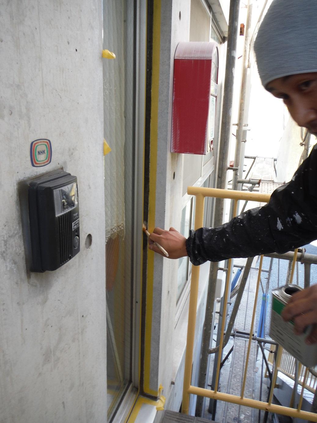 屋根・外壁塗り替え ~ 補修箇所_d0165368_947182.jpg
