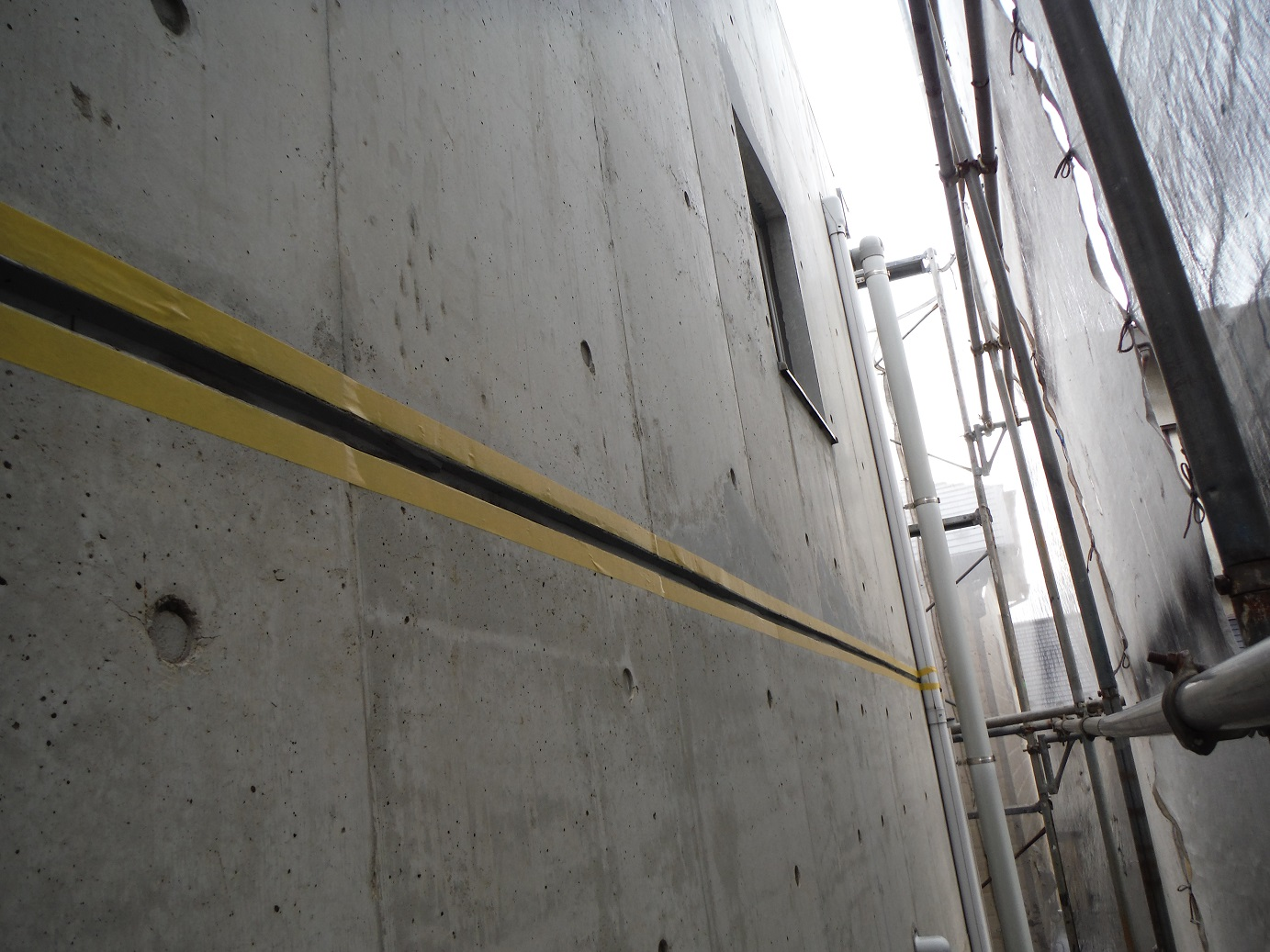 屋根・外壁塗り替え ~ 補修箇所_d0165368_947375.jpg