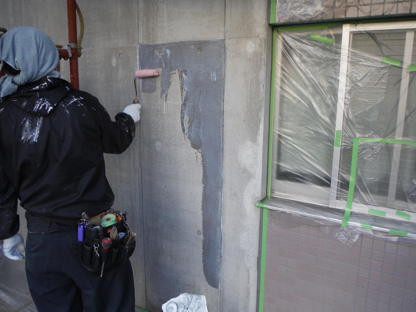 屋根・外壁塗り替え ~ 外壁と屋根_d0165368_9523152.jpg