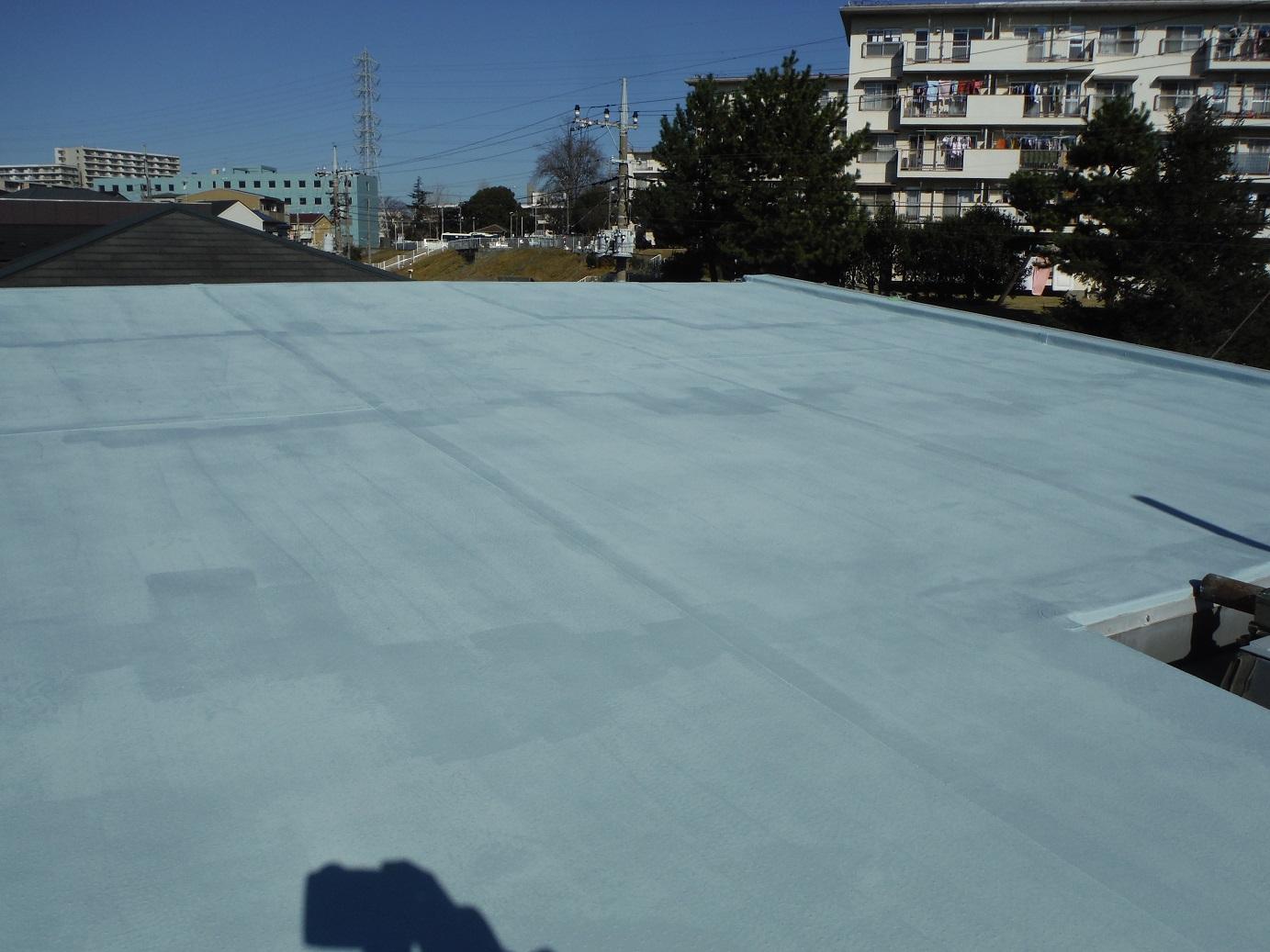 屋根・外壁塗り替え ~ 外壁と屋根_d0165368_9525175.jpg