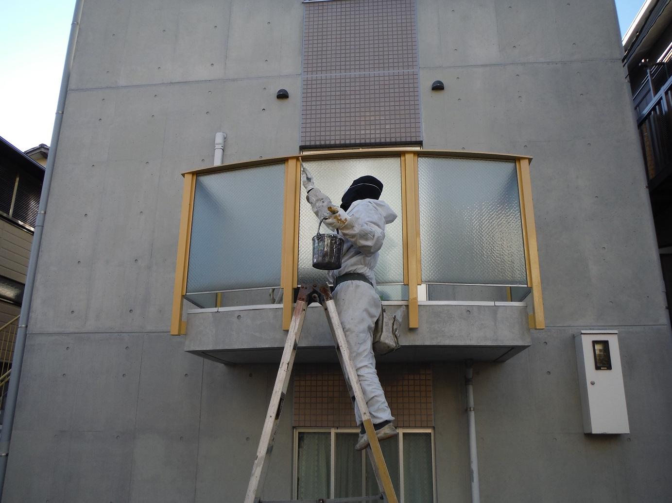 屋根・外壁塗り替え ~ 工事終了です。_d0165368_9584356.jpg