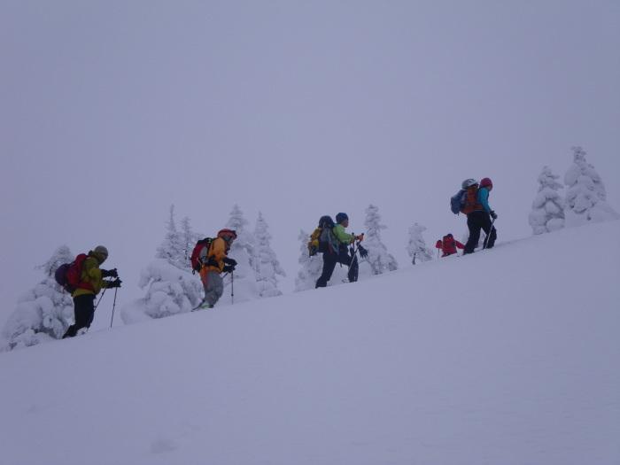 後生掛温泉スキーツアー(焼山編) ~ 2014年12月29日_f0170180_20384997.jpg