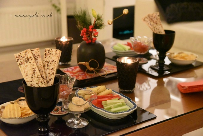 新年ですが。。。大晦日のパーティーのテーブルです(^^;)_b0313387_06220033.jpg