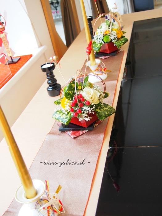 新年ですが。。。大晦日のパーティーのテーブルです(^^;)_b0313387_06443945.jpg
