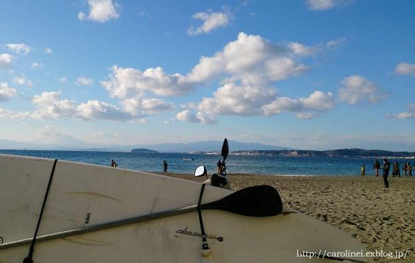 夫の波乗り初め  SUP in Morito on New Year\'s Holiday_d0025294_213733.jpg