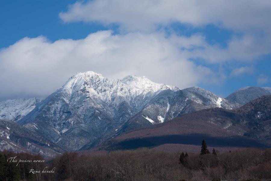 12月、原村からの八ヶ岳_c0137403_1115369.jpg