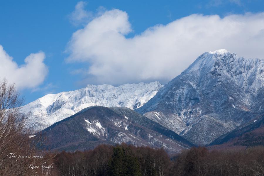 12月、原村からの八ヶ岳_c0137403_11154186.jpg