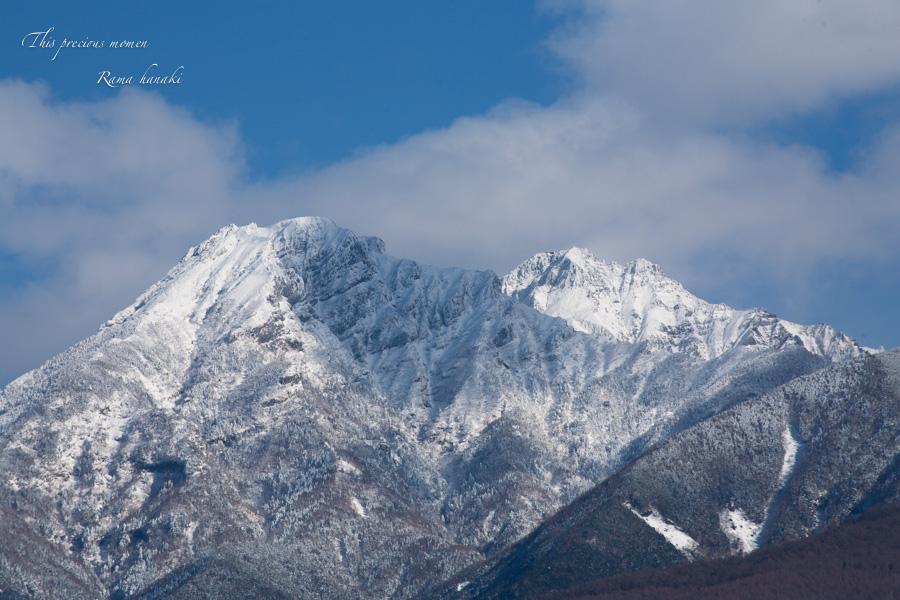 12月、原村からの八ヶ岳_c0137403_11155970.jpg