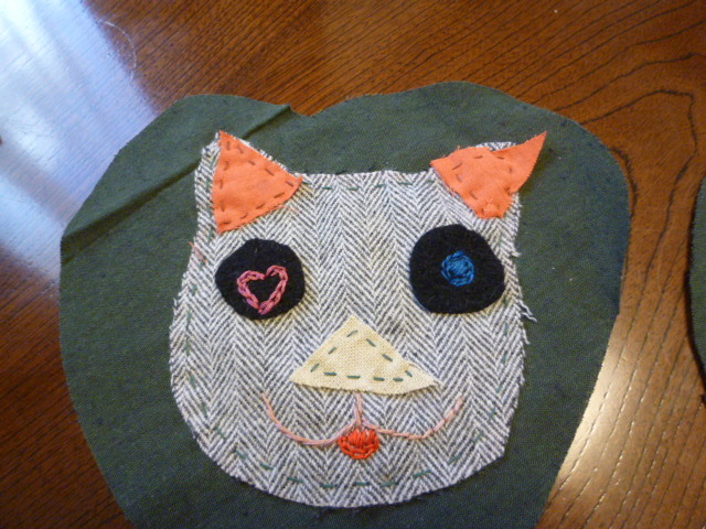 猫のフレンドシップキルト(^0^)♪_f0340942_23570120.jpg
