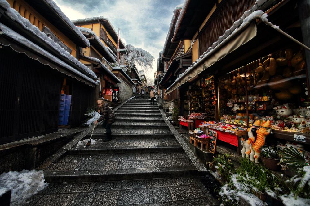 雪景色 京都  <東山>_f0021869_22183854.jpg
