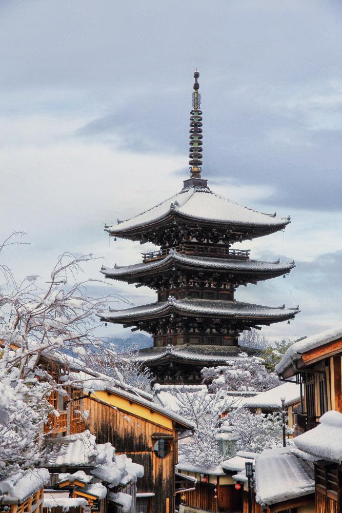 雪景色 京都  <東山>_f0021869_22313145.jpg