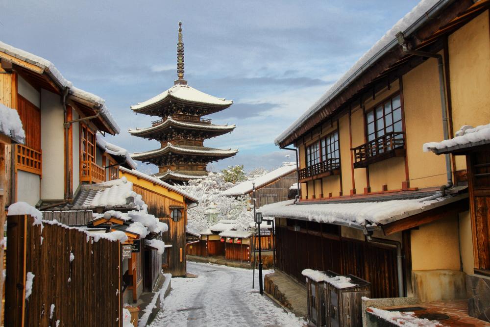 雪景色 京都  <東山>_f0021869_22381329.jpg