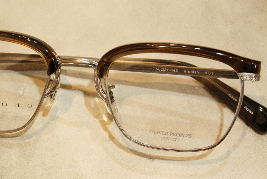 「OLIVER PEOPLES Kronish / HAPPY BAG」_f0208675_2022877.jpg