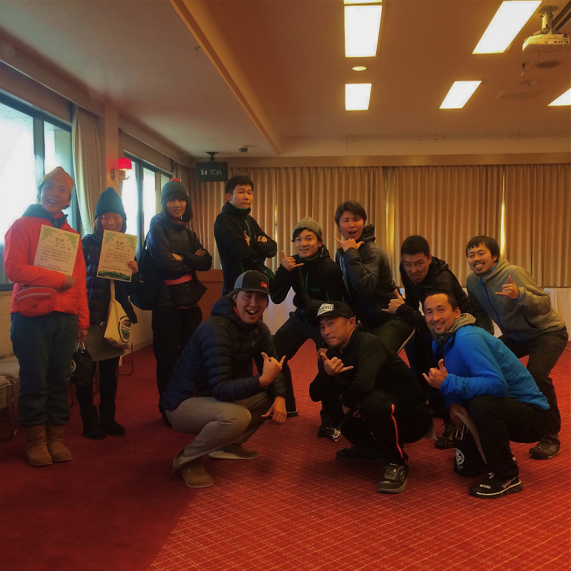 2015 New Year Trail in Kumayama 2015/01/03_b0220886_16151182.jpg