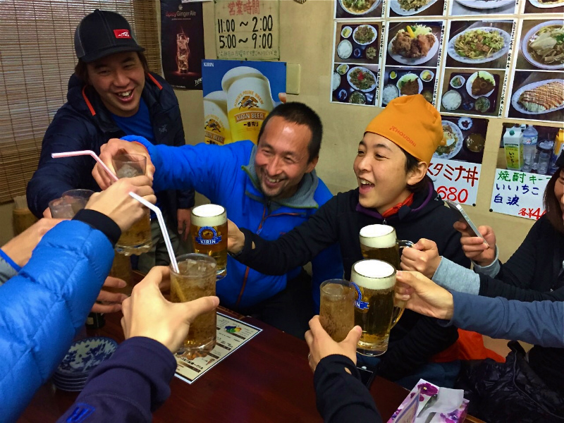 2015 New Year Trail in Kumayama 2015/01/03_b0220886_1615201.jpg