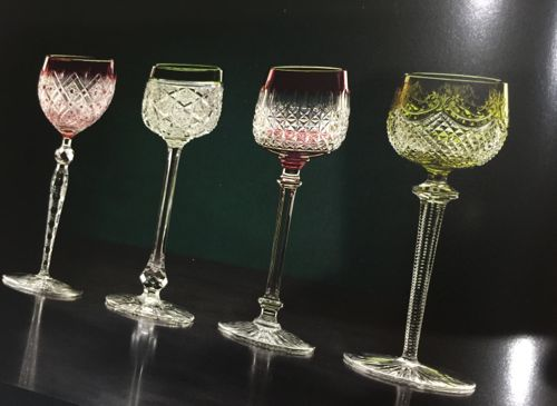 """Baccarat \"""" Flers\"""" style red glass_c0108595_20284329.jpg"""