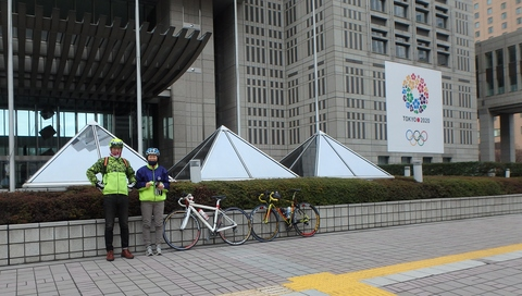 1月2日:東京マラソンのコース試走_b0024696_22163119.jpg