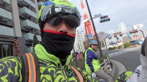 1月2日:東京マラソンのコース試走_b0024696_22321569.jpg