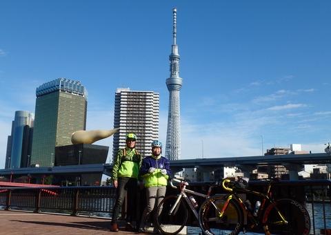 1月2日:東京マラソンのコース試走_b0024696_22435517.jpg