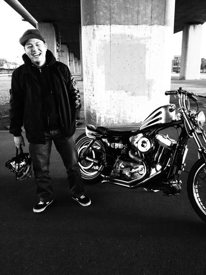 庄司 秀行 & Harley-Davidson XLH883(2014 1214)_f0203027_174304.jpg