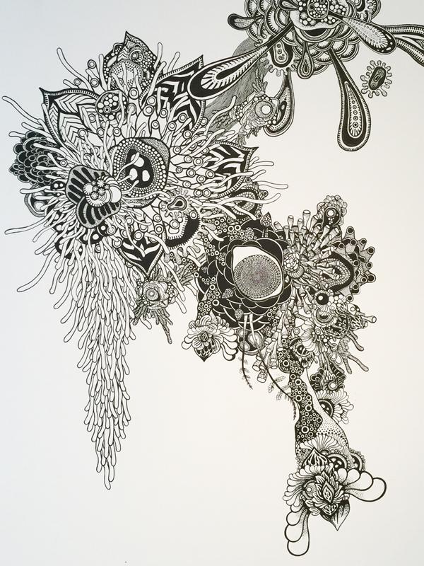 OCMA vol.002 川島一恵 「sacred tree」展 展覧会記録_f0191870_1154741.jpg