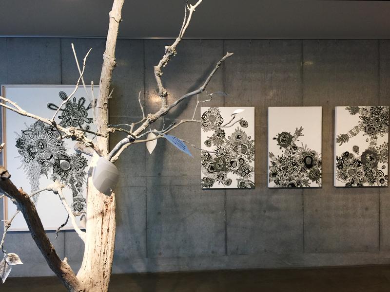 OCMA vol.002 川島一恵 「sacred tree」展 展覧会記録_f0191870_12121575.jpg
